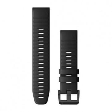 Garmin Silikonový remienok QuickFit™ 22 na zápästie fénix 6 - čierny (ND)