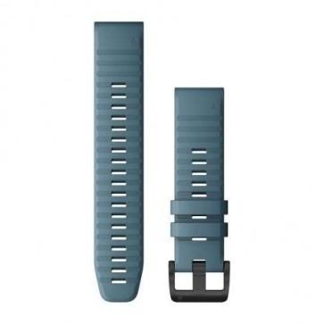Garmin Silikonový remienok QuickFit™ 22 na zápästie fénix 6 - Lakeside Blue (ND)