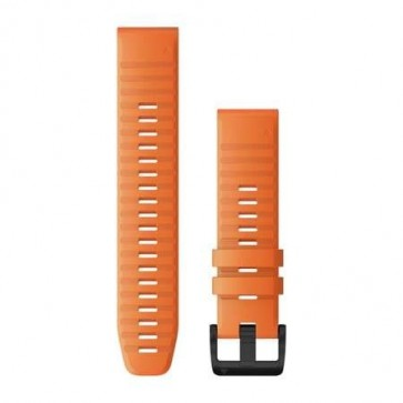 Garmin Silikonový remienok QuickFit™ 22 na zápästie fénix 6 - Ember Orange (ND)