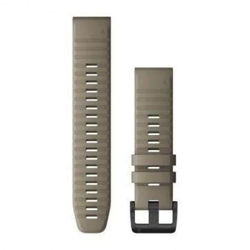 Garmin Silikonový remienok QuickFit™ 22 na zápästie fénix 6 - Dark Sandstone (ND)