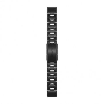 Garmin Titániový DLC Carbon Grey remienok QuickFit™ 22 na zápästie - fénix 6 (ND)