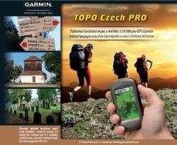 Garmin TOPO Czech PRO- plná verzia - DVD