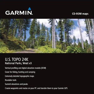 Garmin TOPO USA 24K National Parks, West
