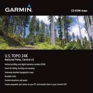 Garmin TOPO USA 24K National Parks, Central