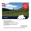 Garmin TOPO mapa - Švajčiarsko PRO, microSD/SD